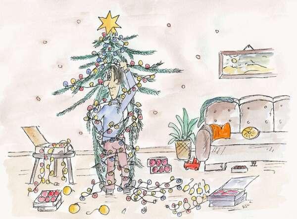 comics von silke m ller zu weihnachten. Black Bedroom Furniture Sets. Home Design Ideas